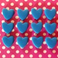Hearts (24) - 13mm x 15mm Hen Party
